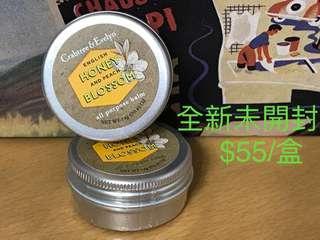 全新Crabtree & Evelyn English Honey Peach Blossom All Purpose Balm 14g