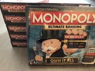 🚚 (Brand New) Monopoly Ultimate Banking