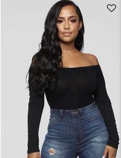 Fashionnova Off Shoulder Bodysuit