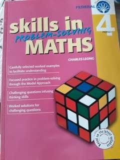 Skills in problem solving maths primary 4