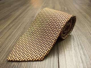 🚚 CEO總裁專屬高級感! HOBY SELECTION 🇯🇵日本製正品🇯🇵  100%真絲 立體編織 頂級 紳士手打領帶
