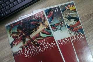 Civil War: The Amazing Spiderman (535, 536, 537)