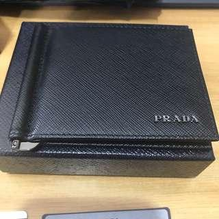 BNIB Prada Saffiano Leather Men Wallet