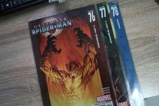 Ultimate Spiderman 76, 77, 78