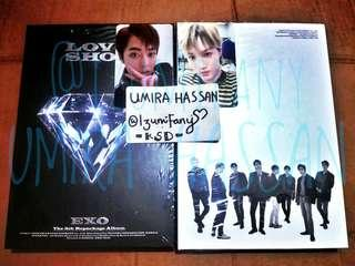WTS - EXO Love Shot Album + Photocard