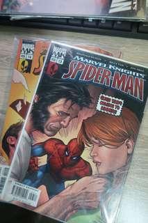 Marvel Knights Spiderman 13, 14