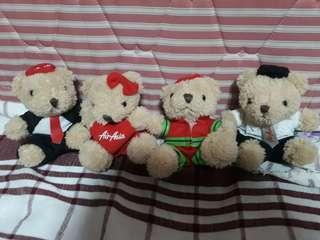 Air Asia teddy bears