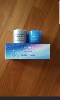 Mailed 2pc face mask laneige