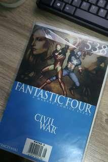 Civil War: Fantastic Four 538