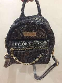 Authentic BCBG mini backpack