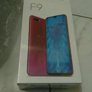OPPO F9 4/64GB (BLUE) BARU ORI MURAH !!