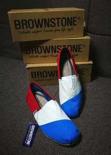 BROWNSTONE Canvas Loafers