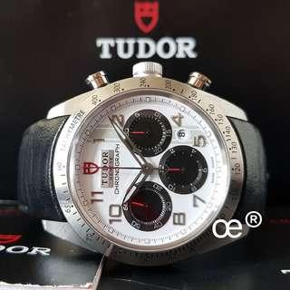 #CNY888 PROMO Tudor Fastrider Chronograph White (PANDA) 42mm