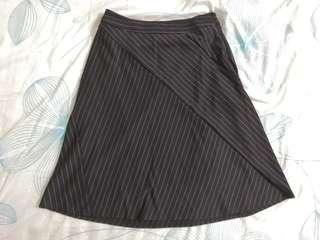 VOIR Striped Skirt