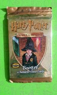 VINTAGE Harry Potter Trading Card Game Booster Packs