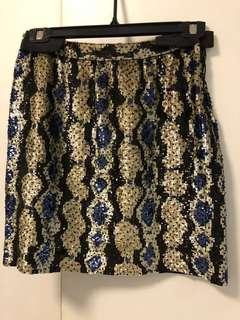 Price reduction - dazzling sequined skirt by Derek Lam (Made in USA)