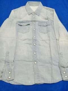 Kemeja Jeans Import