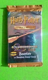 Vintage Harry Potter Trading Card Game Booster Packs Quudditch set