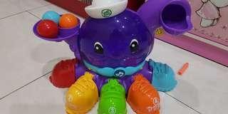 Mainan anak leap frog octopus