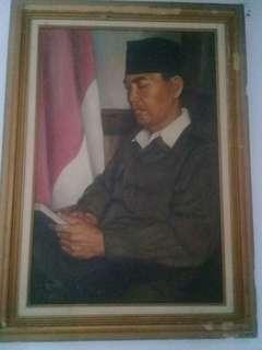 Lukisan Asli Soekarno