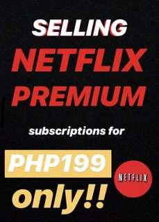 NETFLIX PREMIUM SUBSCRIPTION