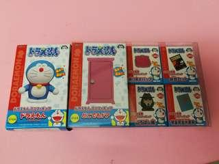 Doraemon 叮噹 多啦a夢 Mini Figure Collection 共6件 (隨意門 未使用品)