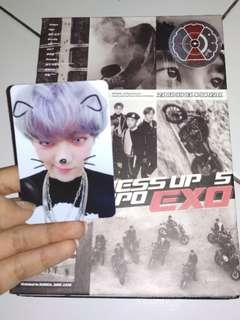 OFFICIAL PHOTO CARD CHANYEOL DON'T MESS UP MY TEMPO ALLEGRO VERSION