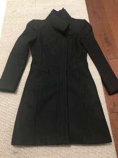 Zara Coat in black size XS