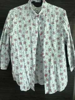 Floral shirt (panini authentic)