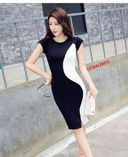 📢new A R R I V A L !!! 🎉🎉🎉 🌺Fashion casual   dress  🌼spandex  🌷One size (fit s to L )  💫One color  🎀Good Quality 💕