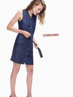 🌺U.S Fashion Denim Dress 🌼Denim 🌷One size (fit M to L) 💫One color only 🎀Good Quality 💕