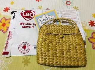 Sling Rattan Bag