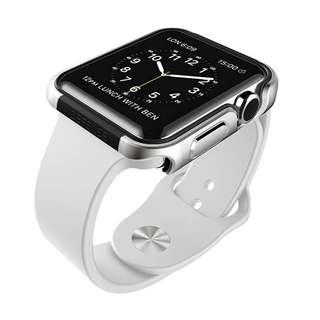 🚚 X-Doria Defense Edge Case (SilverBlack) for Apple Watch 42mm