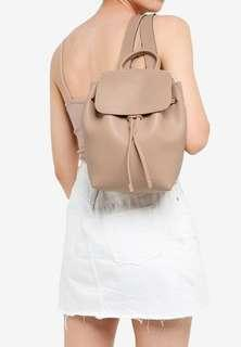 🚚 Cotton On Luella Drawstring Backpack – Nude