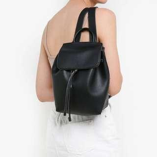 🚚 Cotton On Luella Drawstring Backpack – Black