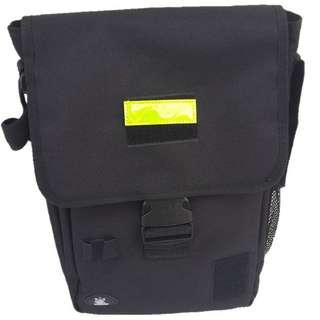 Instructor Document Sling Bag. Black or Navy. Big portrait size good for big and long documents. Measurement 40cm (Height) x 23cm x 14cm. Factory Packaged New Intact, Above Pictures for Demo Only.