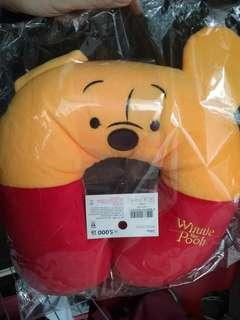 Winnie the pooh neck cushion disney
