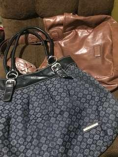 2 Ninewest Bag not kipling lacoste cath anello