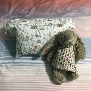 Baby pillow and bolster case (customisable)