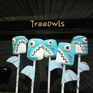 Shark Marshmallow Pop 🐚