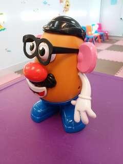 薯蛋頭先生 認識五官 玩具 教具