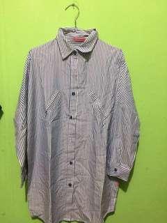 Long Shirt Kemeja Panjang