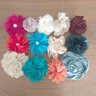 Women Ladies Hair Flower Clips Accessories (Korea)