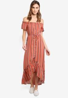 Woven Willa Off The Shoulder Dress