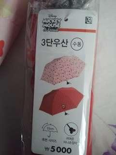 Disney minnie mouse mickey umbrella