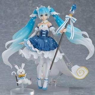 [預訂] 行版 Figma EX-054 雪未來 Snow Princess ver. 雪初音 CharacterVocal 初音 miku goodsmile GSC