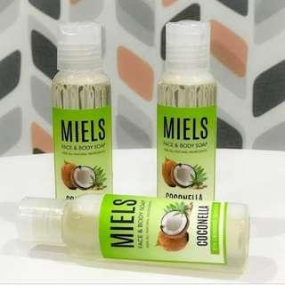 Miels face and body soap