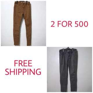 Branded Pants 2 for 450 | FREE SHIPPING