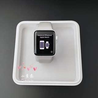 Apple WATCH SERIES 2 42MM 白色精密陶瓷錶殼 A1817 附磁性充電座