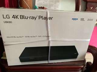 LG 4K Blu-Ray player